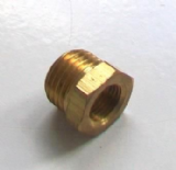 Brass Foundry - Thread Reducing Bushes 3/8 x 1/4 - 07000360